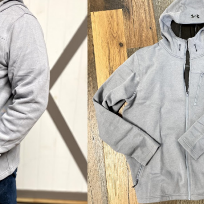 Under Armour Men's Seeker Hooded Jacket Only $28 (Regular $95)!
