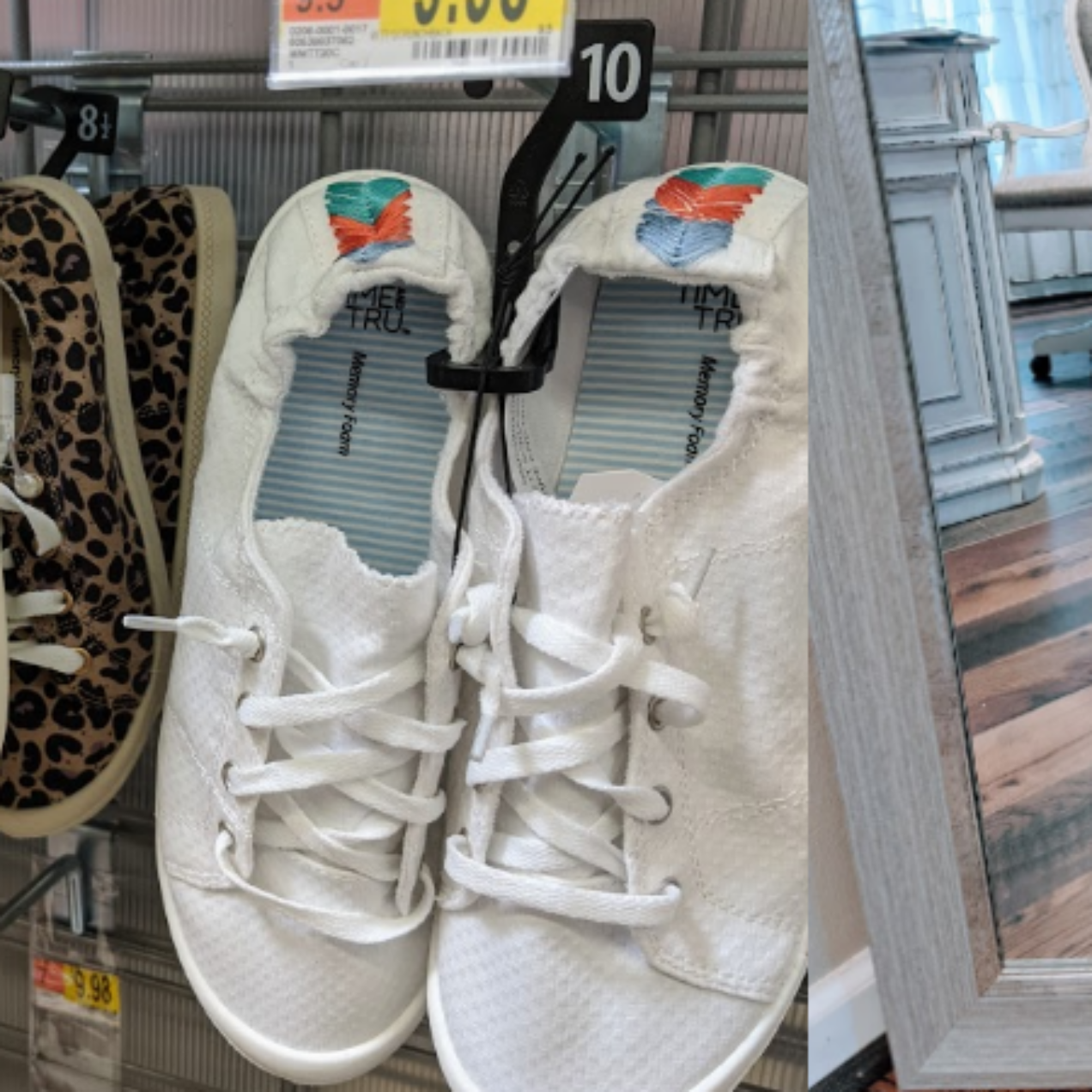 Time and Tru Scrunchback Sneakers Only $10!