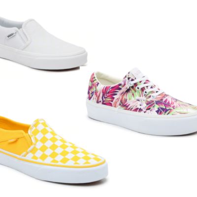50% or more off Select Vans for Women and Kids!