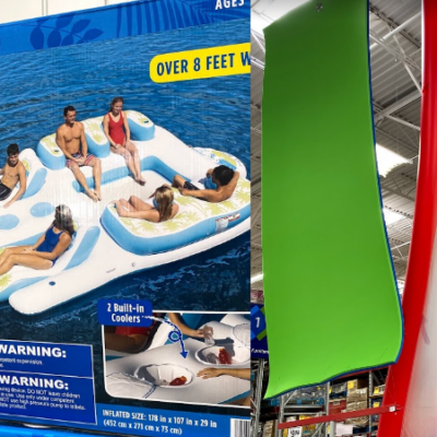 Summer Floats and Inflatable Water Toys are back at Sam's Club!