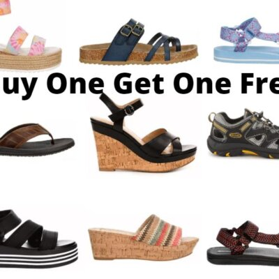 Rack Room Shoes – Buy One Get One Free Sandals for the Family!