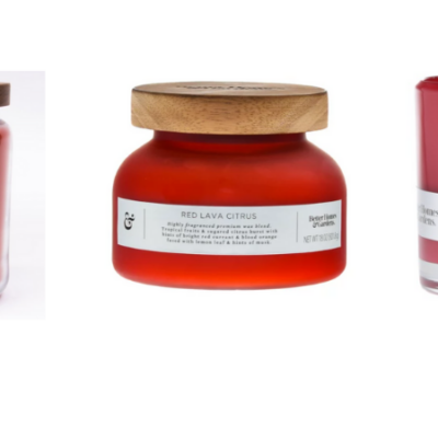Better Homes & Gardens Red Lava Citrus Candle – My New Favorite!