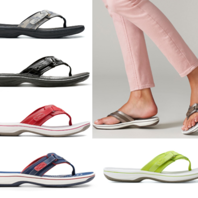 Clarks Women's Cloudsteppers Breeze Sea Sandals Only $33 Shipped (Regular $55)!