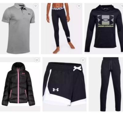 Under Armour Outlet for Kids – 40% Off Code!