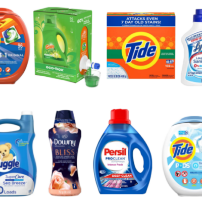Huge List of High Value Amazon Laundry Coupons!