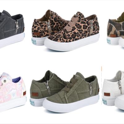 JENN ARDOR Womens Wedge Sneakers – 50% Off!