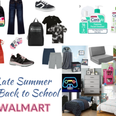 My Fave Late Summer Picks from Walmart!