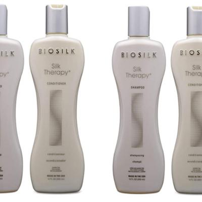BIOSILK Silk Therapy Duo Set Shampoo and Conditioner Deal!