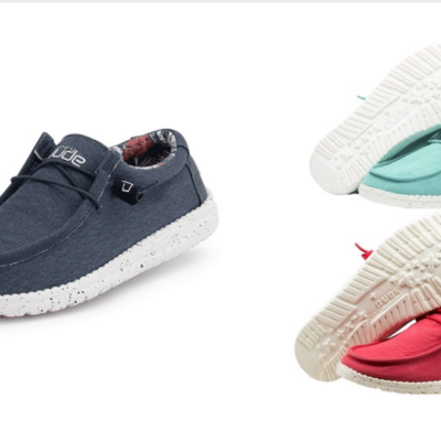 Hey Dude Slip-On Shoes for Men and Women 23% Off – Today Only!