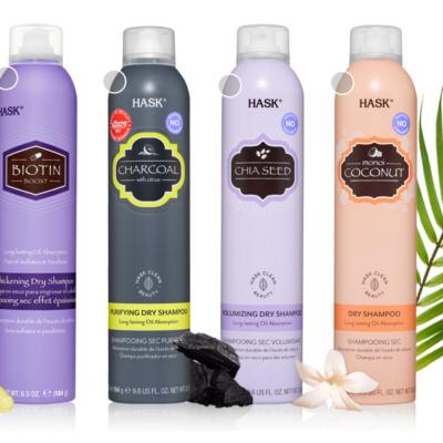 HASK Dry Shampoo 6.5oz- 2 Pack Deals!