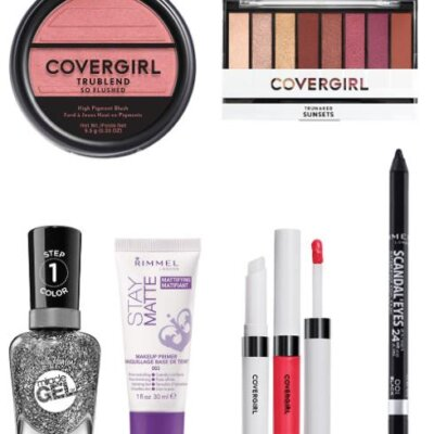 Save on Covergirl, Rimmel, Sally Hansen Miracle Gel and more! Amazon Holiday Beauty Haul!